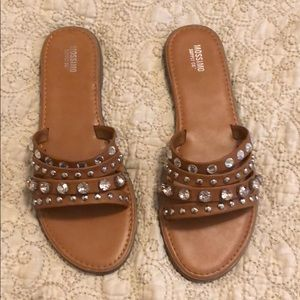 Mossimo Supply co Jeweled Sandals!!!